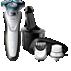 Shaver series 7000 elektromos borotva nedves és száraz használatra