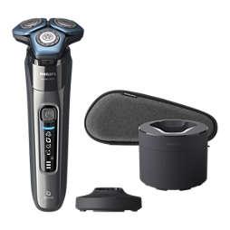 Shaver series 7000 Máquina de barbear elétrica a húmido/seco