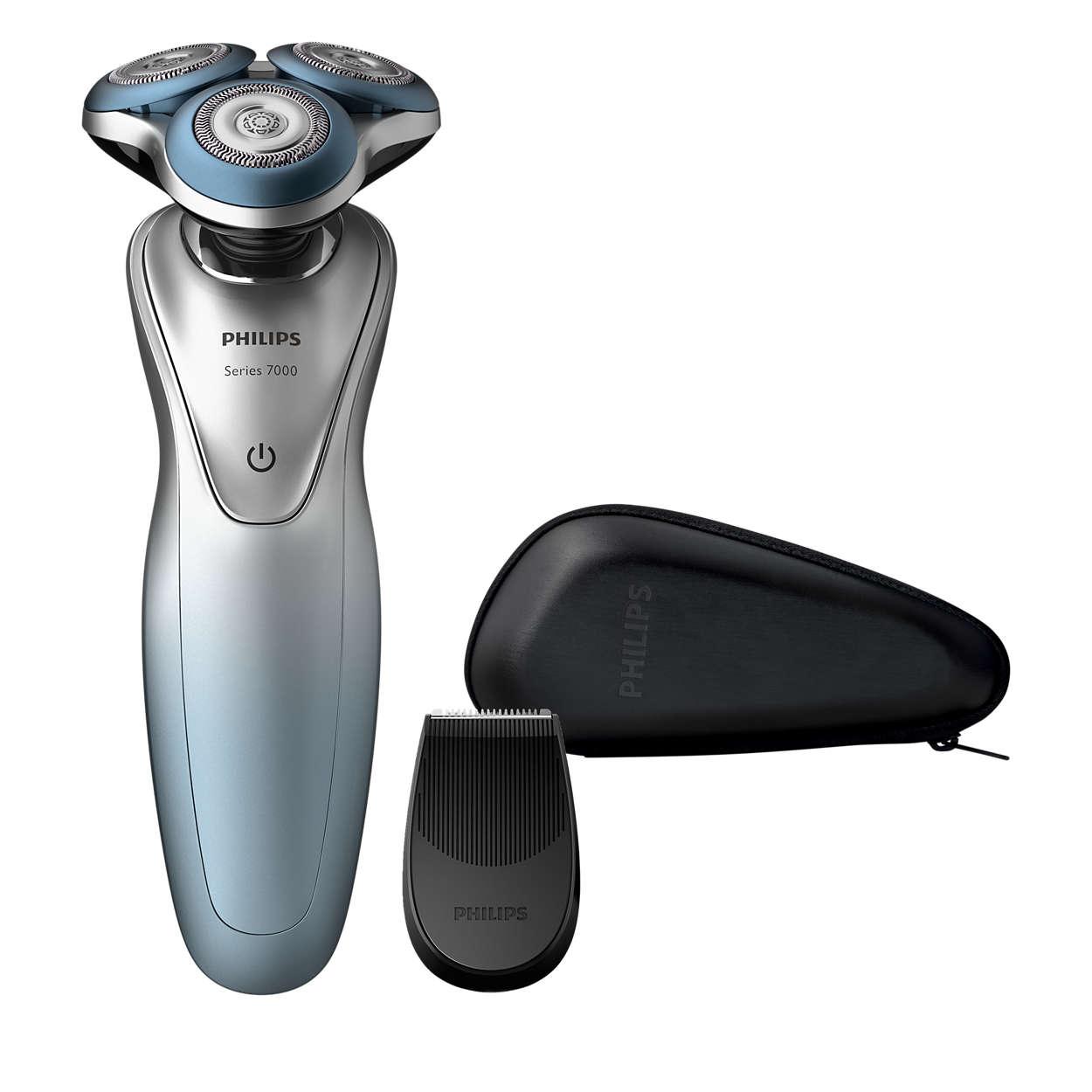 即使面對敏感肌膚也能服貼刮鬍
