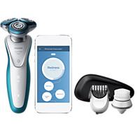 Smart Shaver Series 7000 Sähköparranajokone märkä- ja kuiva-ajoon