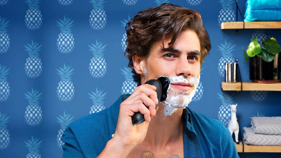 貼面剃鬚,即使是敏感皮膚都適用