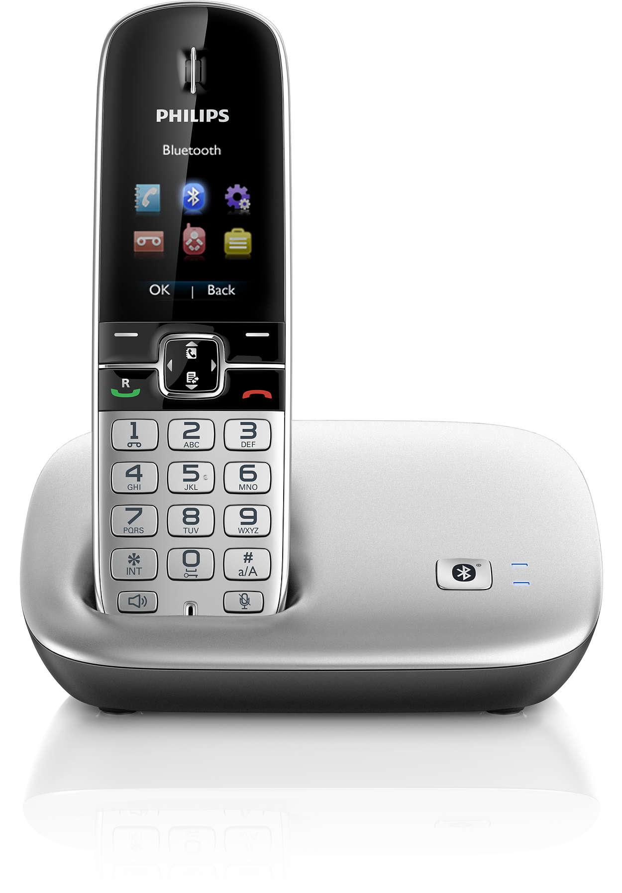 Semua panggilan, telepon rumah & ponsel, dalam satu telepon