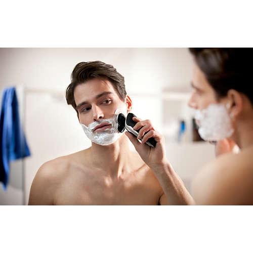 Shaver series 9000 Vår bästa serie rakapparater, våtrakning, 2 tillb.