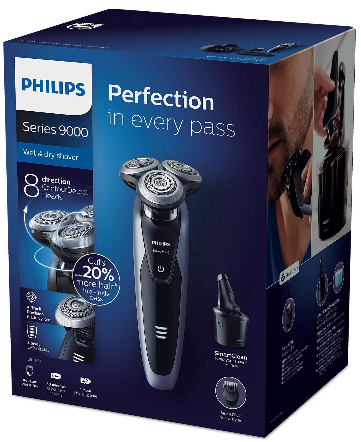 Shaver series 9000 Ηλεκτρική μηχανή για υγρό και στεγνό ξύρισμα ... 5d5aaacc505