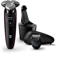 Våt og tørr elektrisk barbermaskin