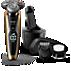 Shaver series 9000 Afeitadora eléctrica para uso en seco y húmedo