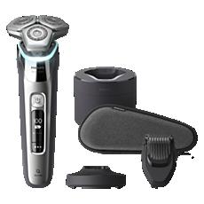 S9985/59 Shaver series 9000 מכונת גילוח חשמלית לשימוש יבש ורטוב