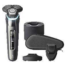 S9987/59 Shaver series 9000 מכונת גילוח חשמלית לשימוש יבש ורטוב