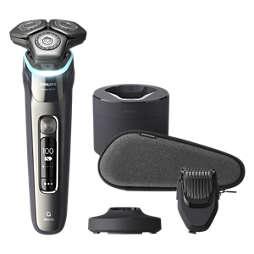 Shaver series 9000 Máquina de barbear elétrica a húmido/seco