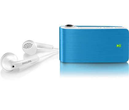 Enjoy your music on the go