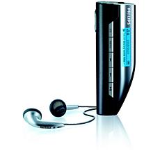 SA159/02  Audiospeler met flashgeheugen