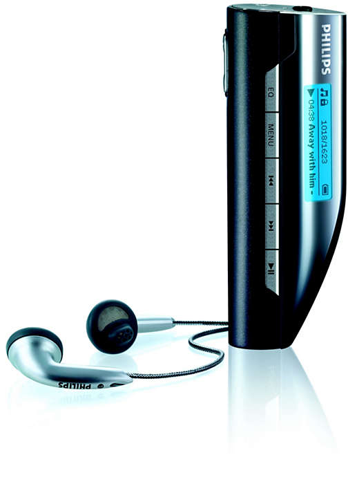 MP3 player portabil
