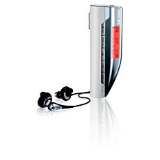 SA167/00 -    Audio přehrávač s Flash pamětí