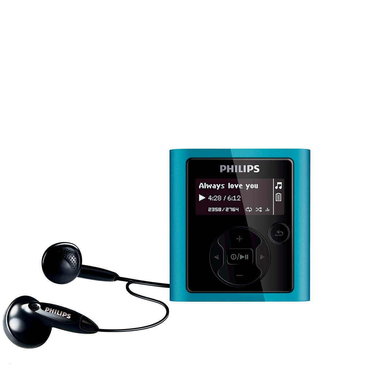 Música digital - a qualquer momento
