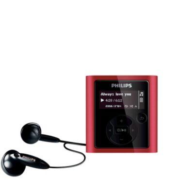 Philips SA4111/37 MP3 Player 64 BIT