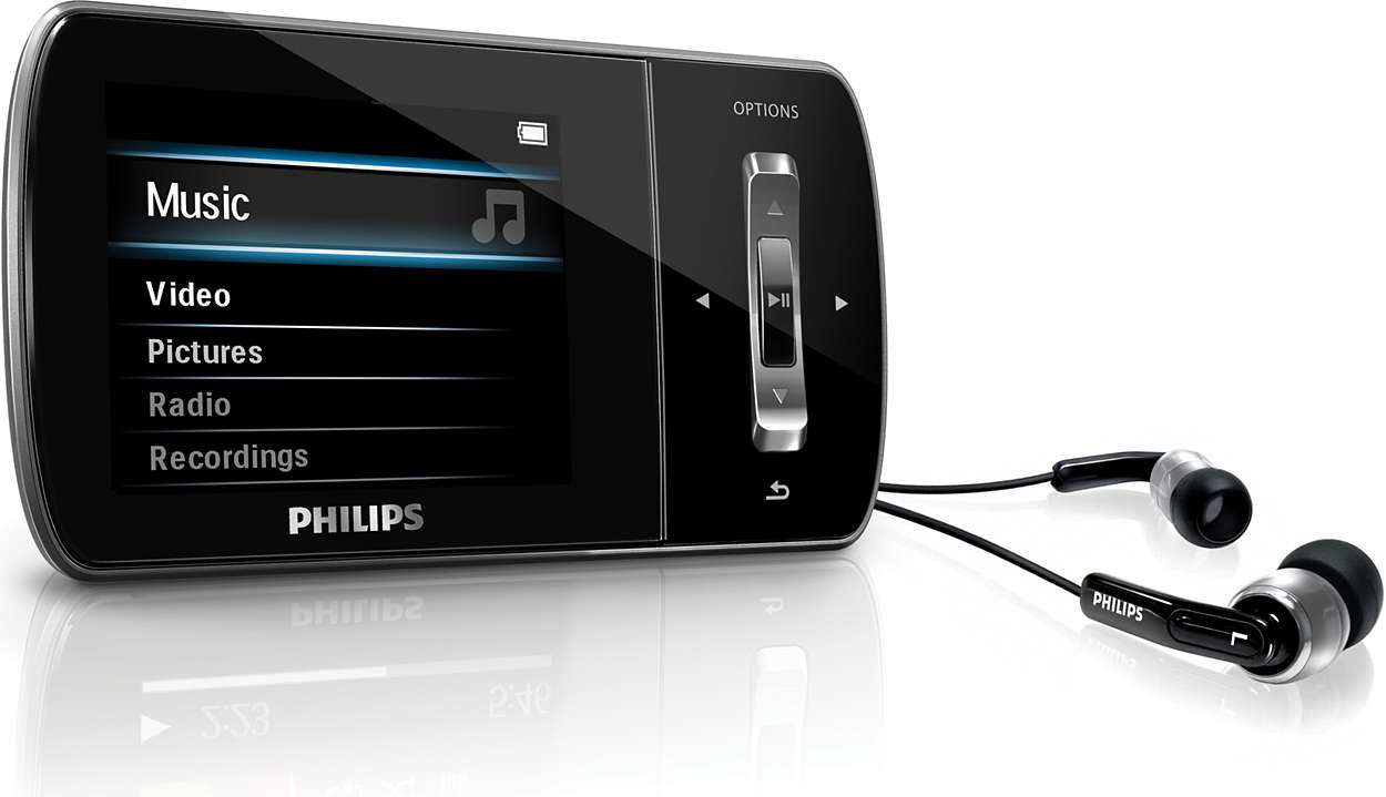 manual philips mp3 player