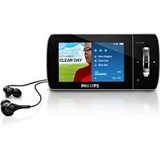 SA1MUS08K/02  MP3 video player