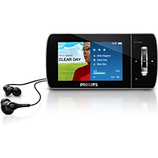 SA1MUS16K/02 -    MP3 video player