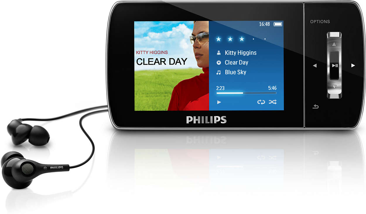 MP3 video player SA1MUS16K/97 | Philips