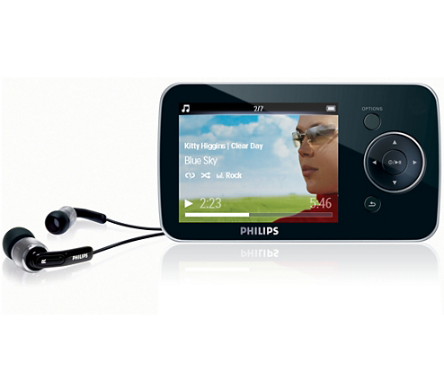 Mp3 Video Player Sa1ops08k 37 Philips