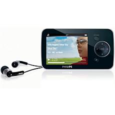 SA1OPS16K/02  MP3 video player
