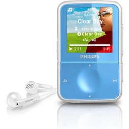 GoGEAR Reproductor de vídeo y MP3
