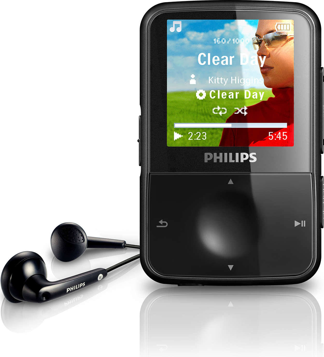 mp3 video player sa1vbe04k 97 philips. Black Bedroom Furniture Sets. Home Design Ideas