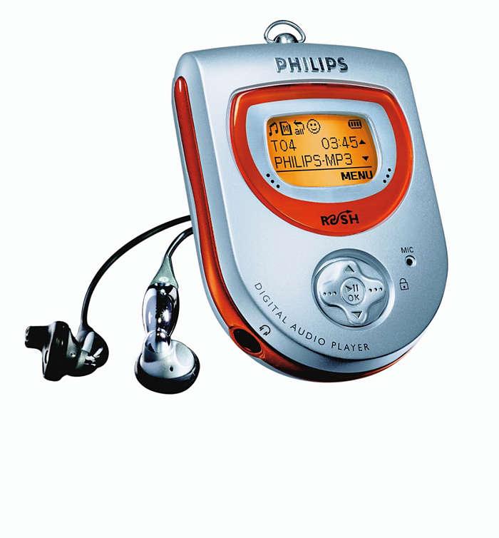 MP3 în plină viteză