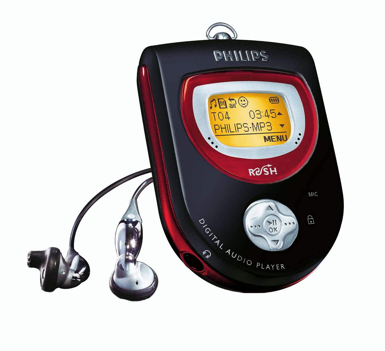 MP3 en pleno movimiento