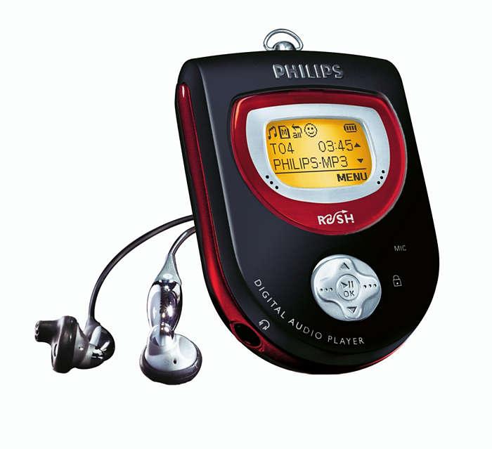 MP3 volop in beweging
