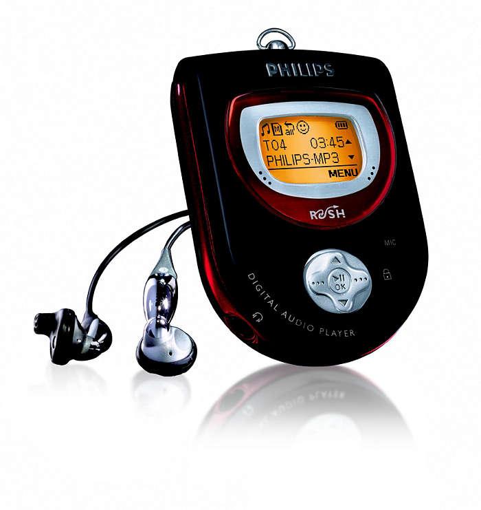 MP3 med rörelsefrihet
