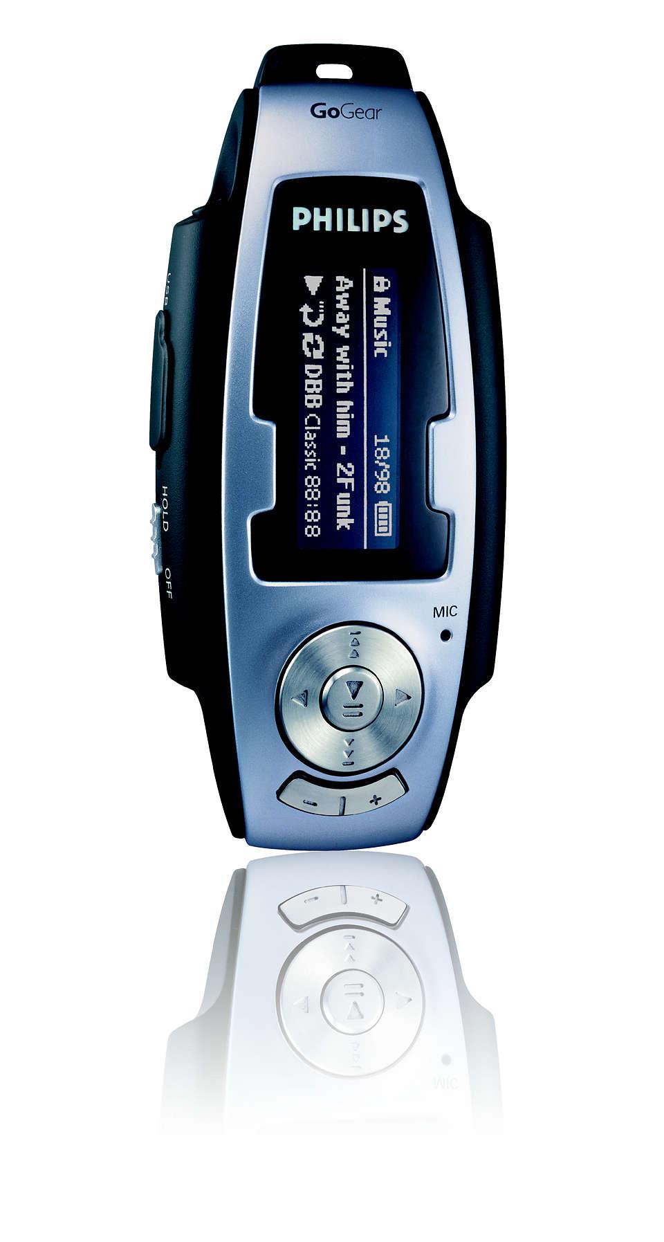 Wszystko czego trzeba, aby cieszyć się muzyką MP3 i WMA w podróży