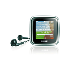 SA2925/02  MP3 player