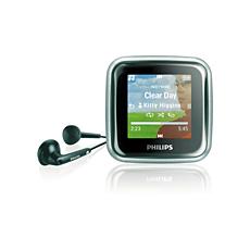 SA2945/97  เครื่องเล่นเพลง MP3