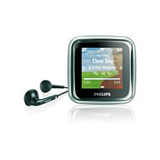 SA2985/97  เครื่องเล่นเพลง MP3 ระบบดิจิตอล