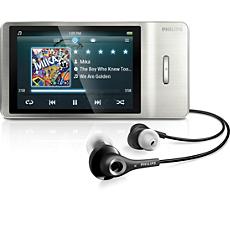 SA2MUS08S/02 -    MP4 player