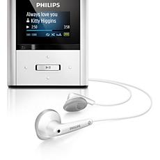 SA2RGA02SN/02 -    Přehrávač MP3