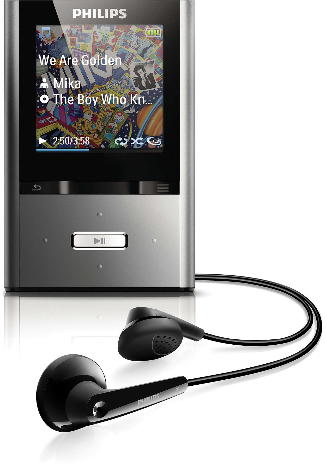 Mp3: MP3 Video Player SA2VBE08K/17
