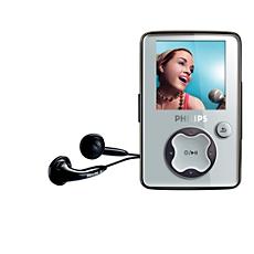 SA3021/37  Portable video player