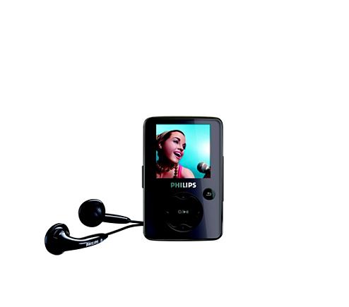portable video player sa3025 02 philips. Black Bedroom Furniture Sets. Home Design Ideas