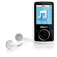 SA3124/02 -    Odtwarzacz audio-wideo z pamięcią flash