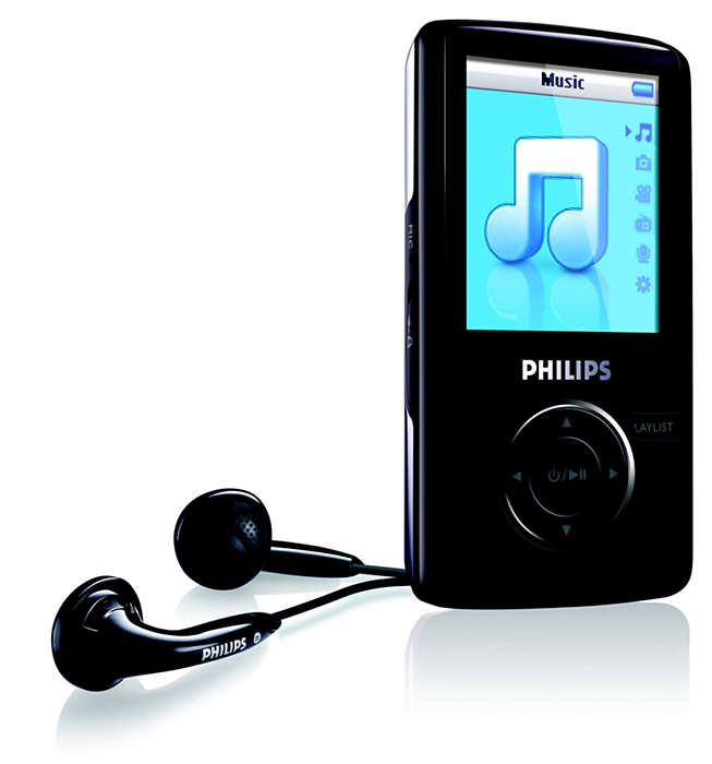 Uw digitale muziek voor onderweg