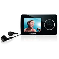 SA3285/37  Portable video player