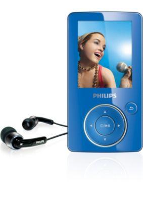 Philips SA6185/37 MP4 Player Drivers for Windows Download
