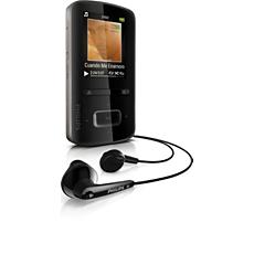 SA3VBE08KC/37  MP3 video player