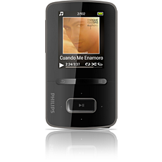 SA3VBE08K/37  MP3 video player