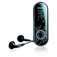 SA4320/02 -    Lettore audio con memoria flash