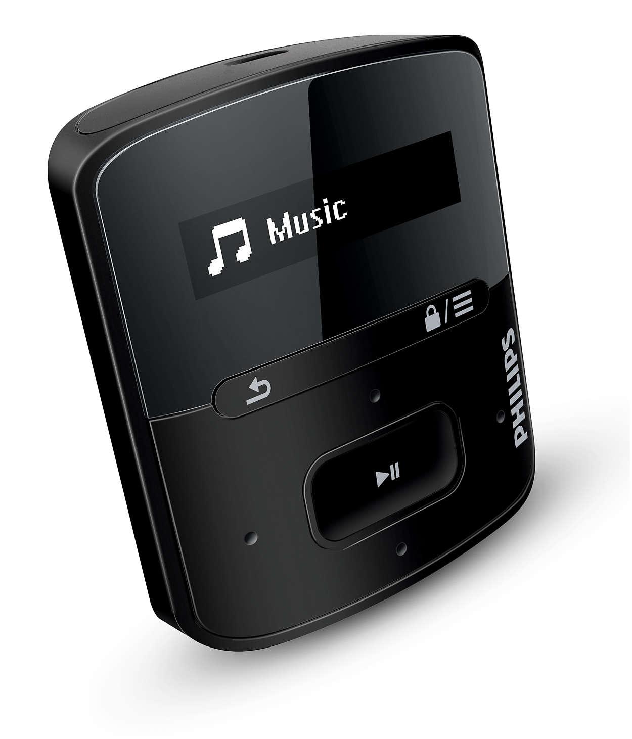 Divirta-se com a portabilidade e um som de alta qualidade