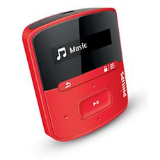 SA4RGA04RF/12 -    Odtwarzacz MP3