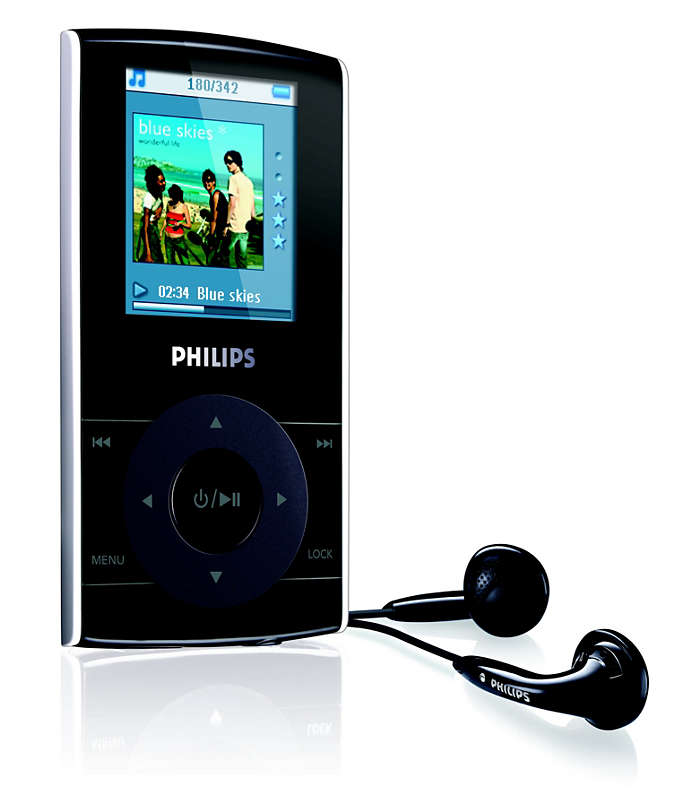 Portable video player SA5115/97 | Philips